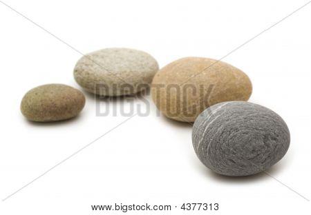 Stones Over White