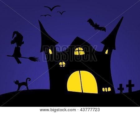 Terrifying castle