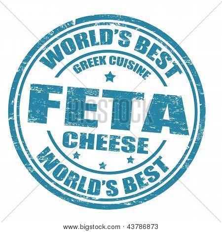 Feta Cheese Stamp