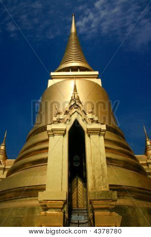 Golden Temple In The Grand Palace, Thailand