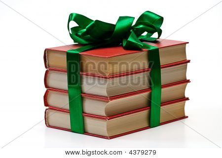 Valentine Day Gift Book Isolated
