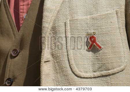 Aids Ribbon In Zimbabwe