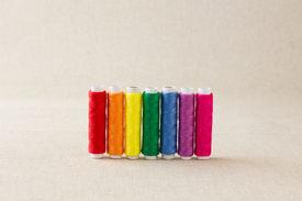 Rainbow Coloured Thread