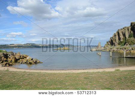 Bay at Inchcolm