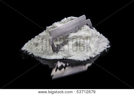 Cocain And Razor Blade