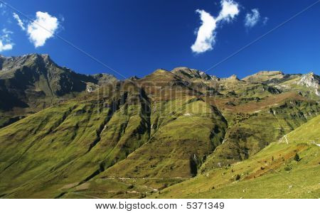 Col Du Tourmalet - French/spain Mountains