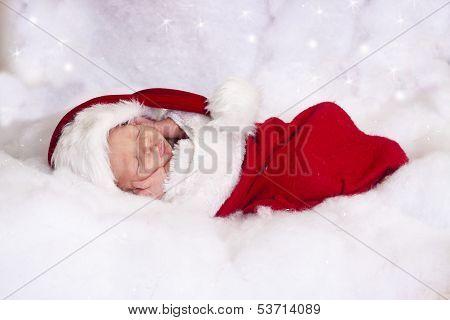 Santa baby boy