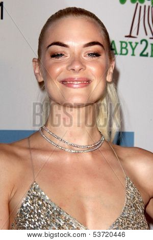 LOS ANGELES - NOV 9:  Jaime King at the Second Annual Baby2Baby Gala at Book Bindery on November 9, 2013 in Culver City, CA