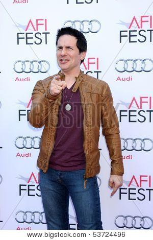 LOS ANGELES - NOV 9:  Hal Sparks at the AFI FEST