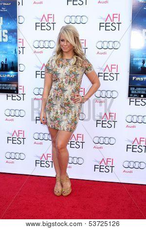 LOS ANGELES - NOV 9:  Chelsie Hightower at the AFI FEST