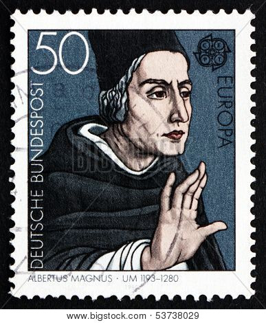 Postage Stamp Germany 1980 Albertus Magnus, Dominican Friar And Bishop