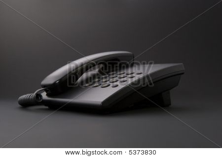 Serious Office Tool - Black Phone