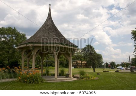 Gazebo By The Road