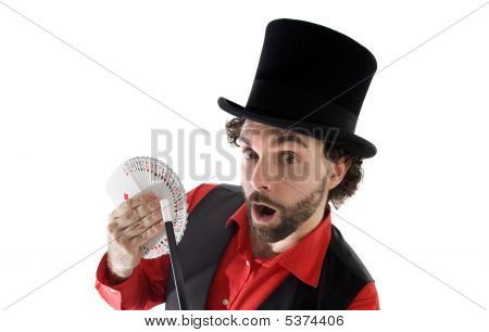 Surprised Magician