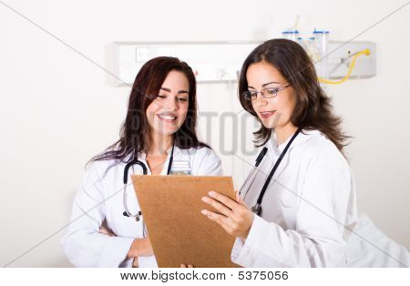 Doctors Working