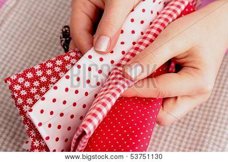 Needlework, patchwork