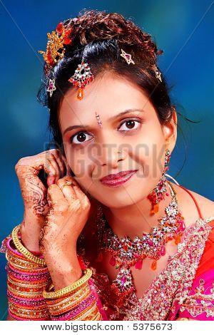 Königliche indische Schönheit
