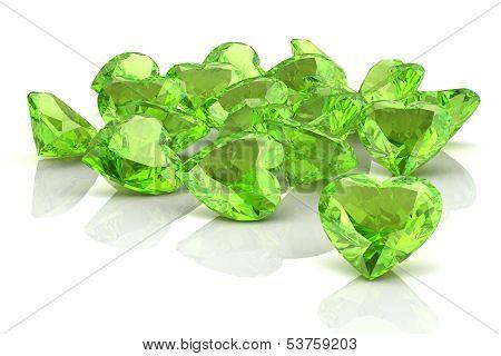 Peridot (high Resolution 3D Image)