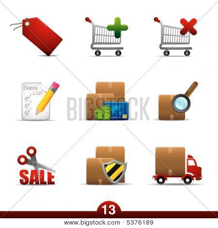 Serie Icon - compras