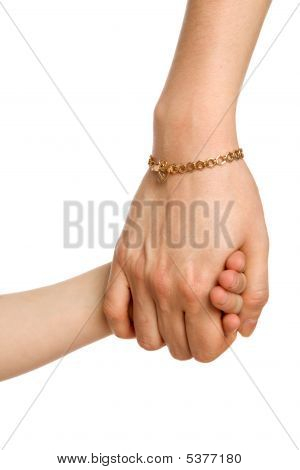 Two Associated Hands - Little And Big (female)