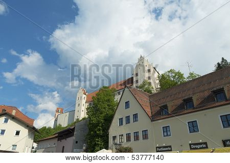Houses In Fussen, Germany