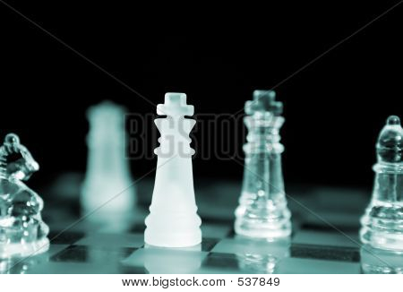 Chess (focus On Close King)