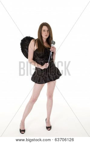 Dark Angel With Wand