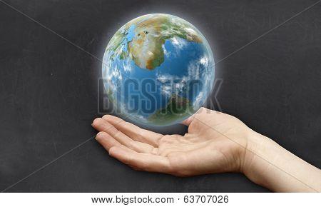 Hand Beneath Earth