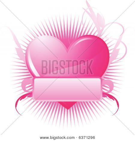 to be used in valentine, weddings and romantic themes poster