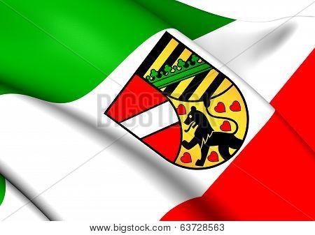 Flag Of Saale-Holzland-Kreis
