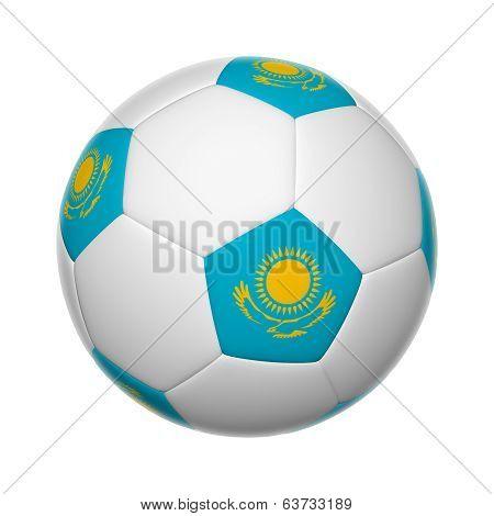 Kazakhstan Soccer Ball