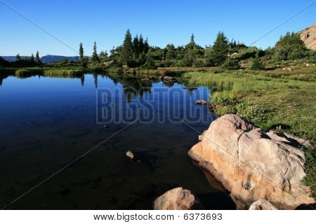 Naturalist Basin Lake