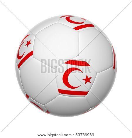 Turkish Republic Of Northern Cyprus Soccer Ball