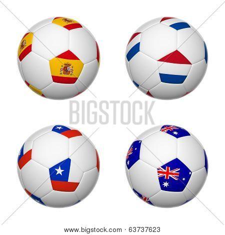 Soccer Balls Of Brazil 2014, Group B