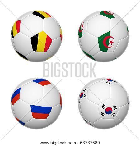 Soccer Balls Of Brazil 2014, Group H