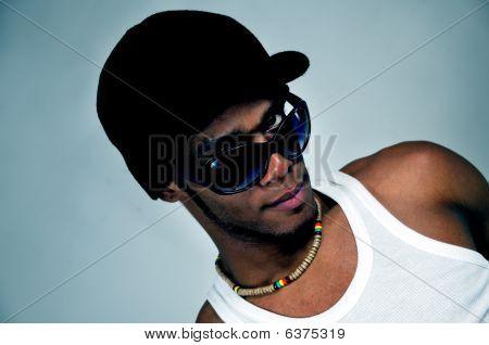 African Male Fashion Model