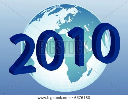 New Year On The World