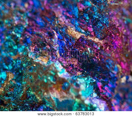 Abstract background from a Crystal mineral