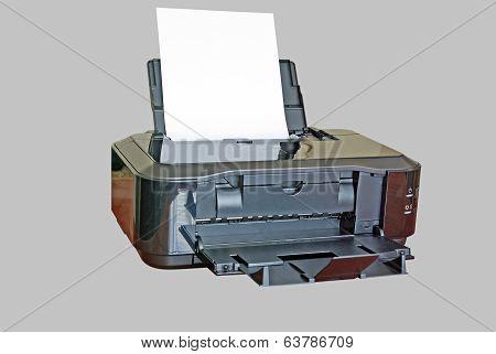 Inkjet Isolated Printer