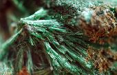 Malachite with the formula Cu2CO3(OH)2 is copper carbonate hydroxide mineral poster
