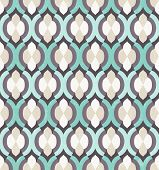 Vector seamless background. Moroccan wallpaper. EPS 10. poster