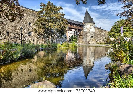 Old City Wall Of Andernach