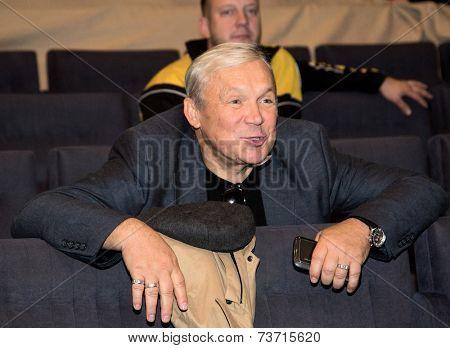 MOSCOW - OCTOBER, 1: Vasily Mishenko. Opening Season. Troupe of Theatre Meeting.