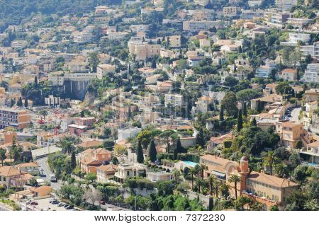 Aerial View Of Nice's Countryside