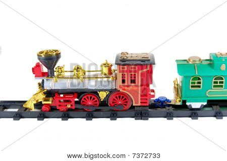 Toy Train and caboose