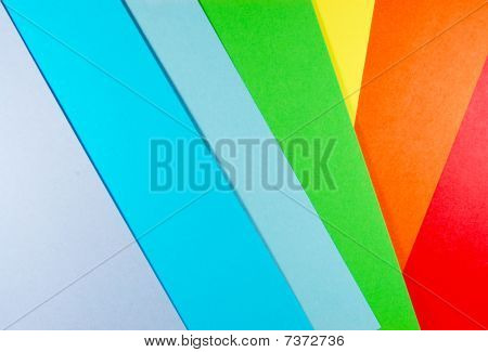 Colourful Paper - rainbow