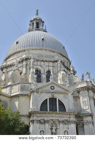 Dome Of Saint Mary Of Health Church
