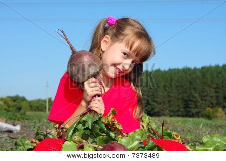 The Girl With A Beet