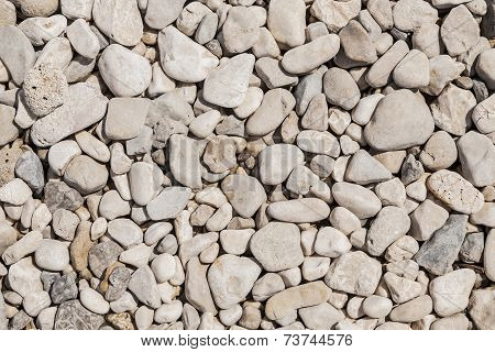 Background of stones.