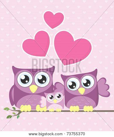 owls family